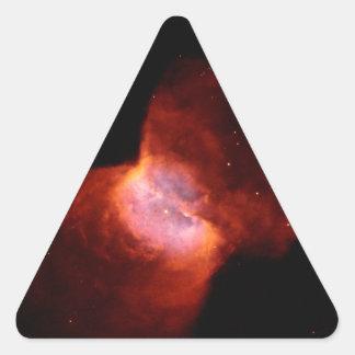 Planetary Nebula NGC 2346 Space Triangle Sticker