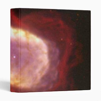 Planetary Nebula NGC 7027 in Infrared Light 3 Ring Binders