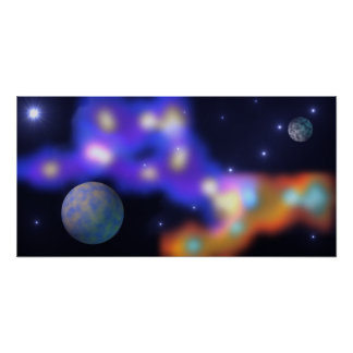 Planetary Painting 2 Poster