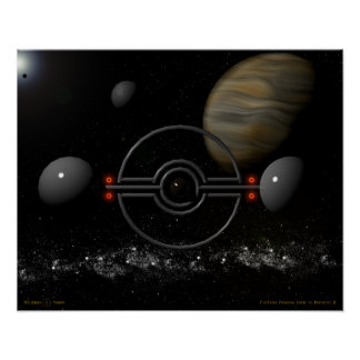 Planetary Rotating Frame of Reference II Poster