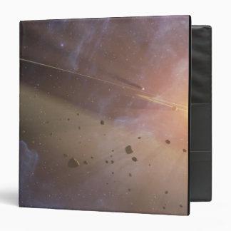 Planetary system Epsilon Eridani 3 Ring Binder