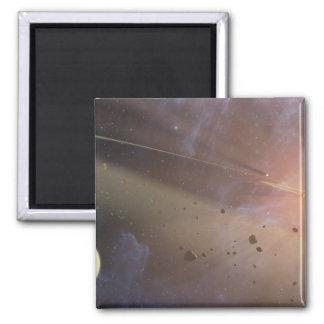 Planetary system Epsilon Eridani Magnet