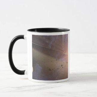 Planetary system Epsilon Eridani Mug