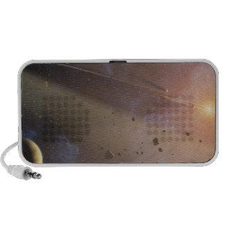 Planetary system Epsilon Eridani Portable Speaker