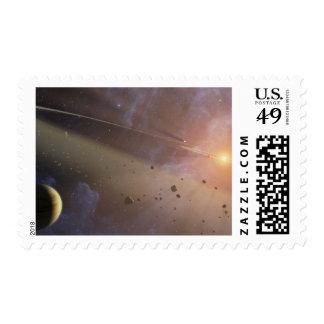 Planetary system Epsilon Eridani Stamps