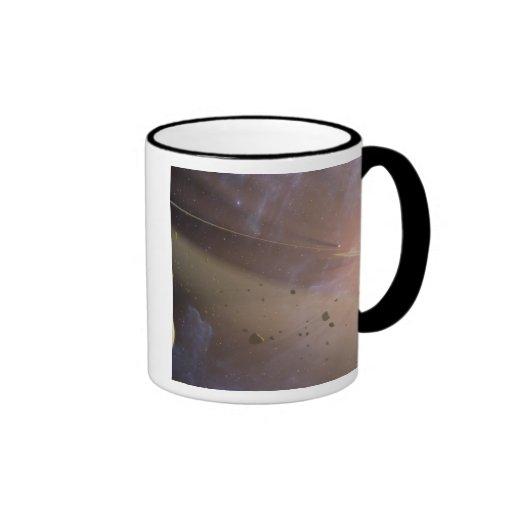 Planetary system Epsilon Eridani Ringer Mug