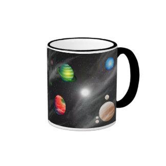 Planetary System Coffee Mugs