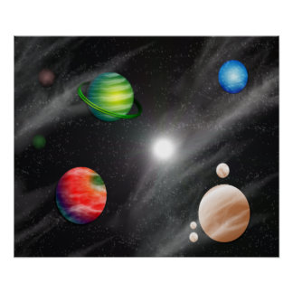 Planetary System Poster
