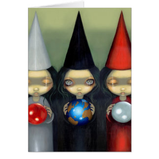 """""""Planetary Witches"""" Greeting Card"""