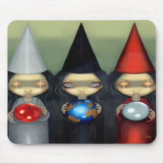 """""""Planetary Witches"""" Mousepad"""