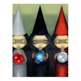 """""""Planetary Witches"""" Postcard"""