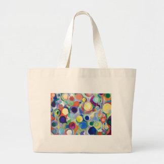 Planetas coloridos (expresionismo abstracto) bolsas