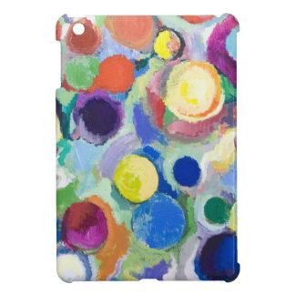 Planetas coloridos (expresionismo abstracto) iPad mini cárcasas