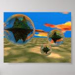 Planetas de la burbuja posters