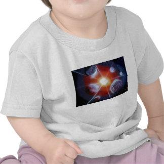 Planetas de la explosión de la Nova del espacio Camisetas
