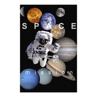 planetas de la Sistema Solar de la misión espacial Papeleria De Diseño