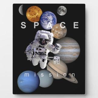 planetas de la Sistema Solar de la misión espacial Placa De Madera