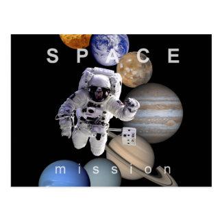 planetas de la Sistema Solar de la misión espacial Postales