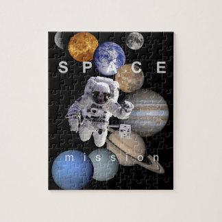 planetas de la Sistema Solar de la misión espacial Puzzle