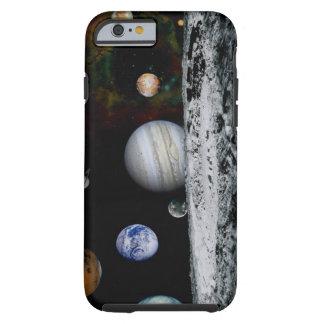 Planetas de la Sistema Solar Funda Para iPhone 6 Tough