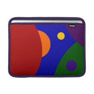 Planetas del arco iris fundas para macbook air