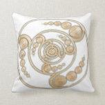 Planetas del espiral del círculo de la cosecha almohadas