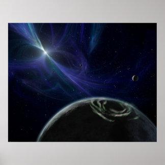 Planetas del extremo de NASAs Posters