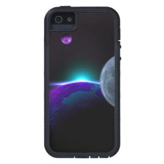 Planetas en púrpura funda para iPhone 5 tough xtreme