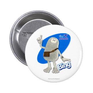 ¡Planetas minúsculos Bing - Uno-ha! Pin Redondo De 2 Pulgadas