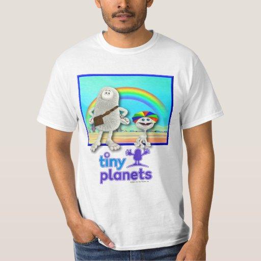 Planetas minúsculos - fabricación de los arco iris poleras