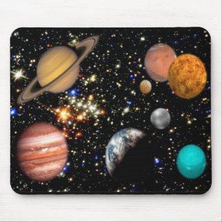 Planetas Mousepad de la Sistema Solar Alfombrillas De Raton