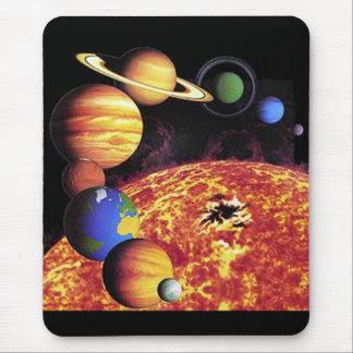 Planetas Mousepad de la Sistema Solar Alfombrilla De Ratón