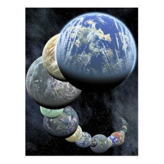 Planetas Tarjetas Postales