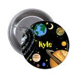 Planetas y espacio felices pins