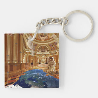 Planetdom Planet Cathedral Schlüsselring