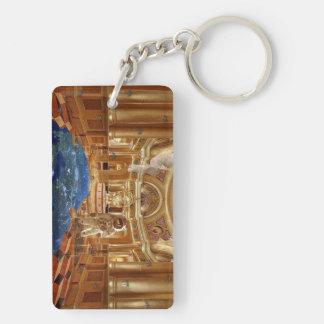 Planetdom Planet Cathedral Schlüsselanhängern