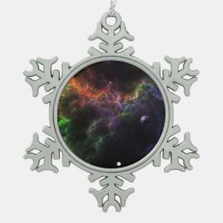 Planetoids - Nebula Cluster Snowflake Ornament