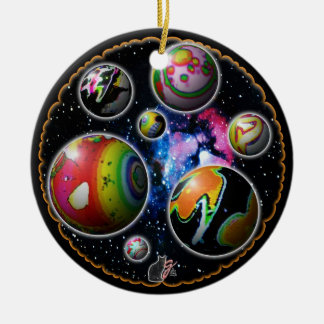 Planetoids Ornament