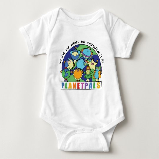 Planetpals Love the Planet and Everything in It Baby Bodysuit