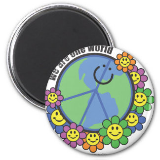 Planetpals-We Are One World Peace Love Earth Magnet