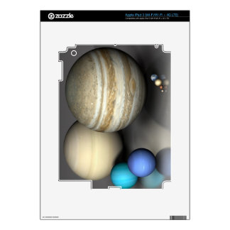 Planets 2 decals for iPad 3