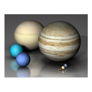 Planets 2 postcard
