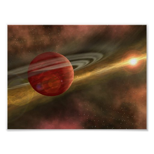 Planets and dwarf planets poster