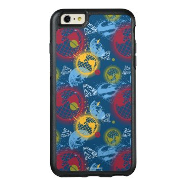 Planets and Logo Pattern OtterBox iPhone 6/6s Plus Case