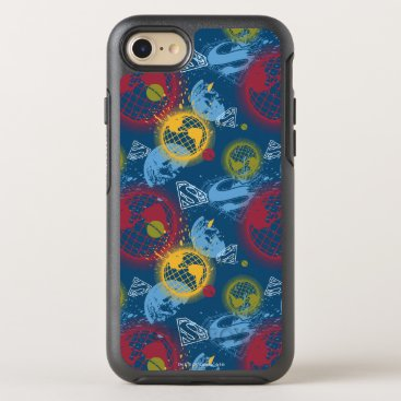 Planets and Logo Pattern OtterBox Symmetry iPhone 8/7 Case