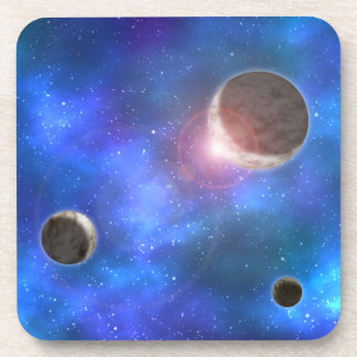 Planets and Nebulae Beverage Coaster