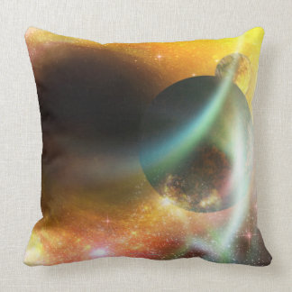 Planets and Stars Throw Pillows