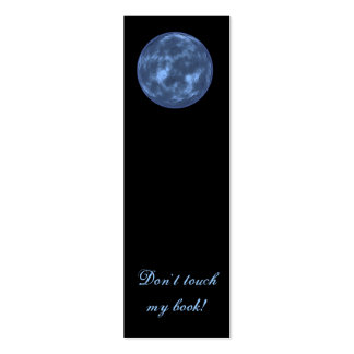Planets Bookmark Mini Business Card