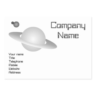 Planets Business Card Templates