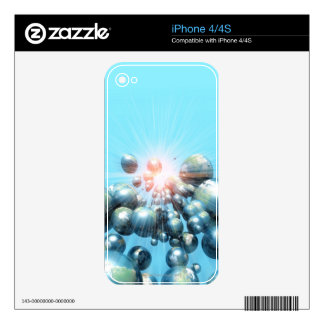 Planets Decal For The iPhone 4